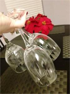 Boqueting glassware