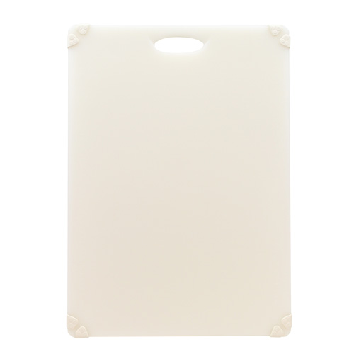 White color-coded cutting board for dairy products