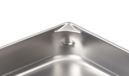 Super Pan V Flat/Rolled Edge Steam Table Pan