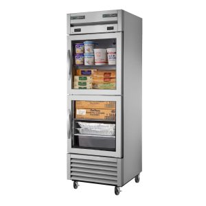 True T-23DT-G-HC~FGD01 Dual Temp Refrigerator/Freezer