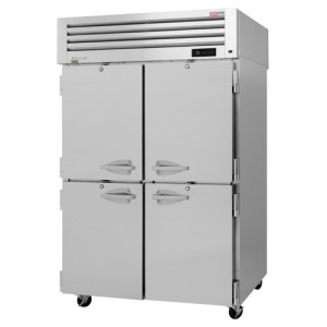 Turbo Air Pro Series Refrigerator with 4 Half Size Doors