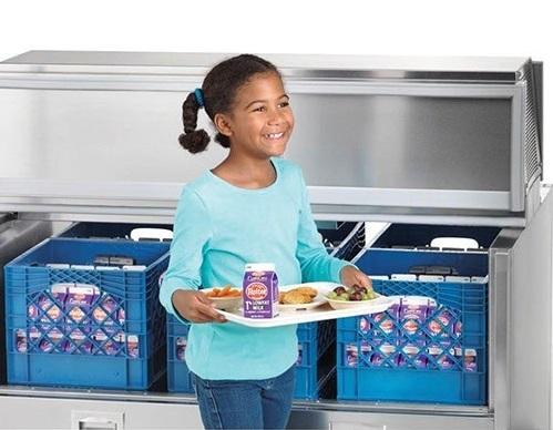 Milk cooler and child