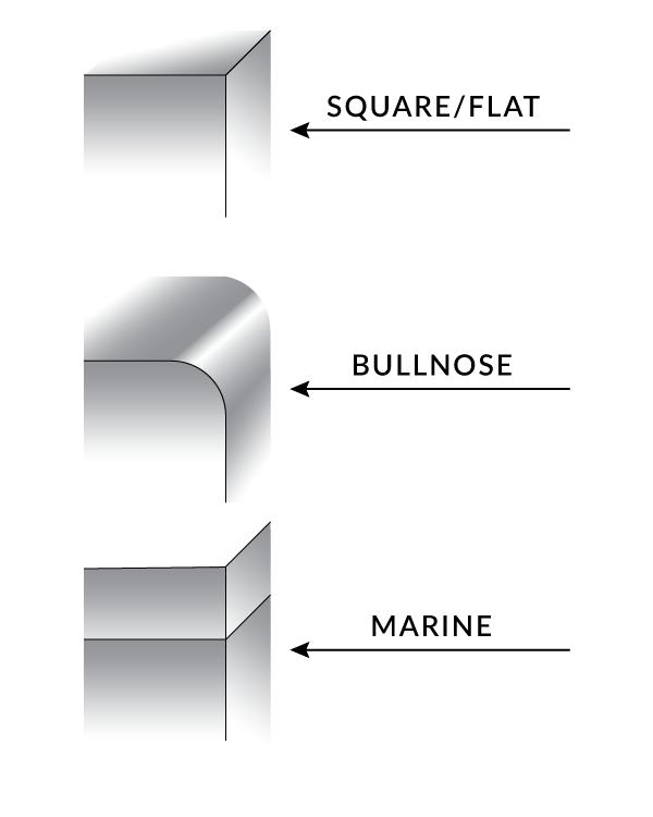 worktable edge types