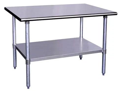 Stainless steel worktables