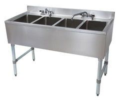 four compartment sink