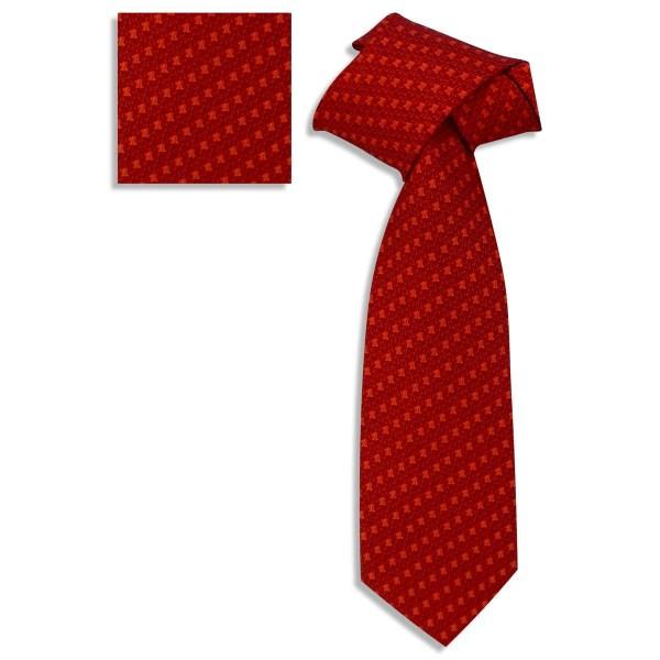 Corbata Colección Soumaya Color Rojo