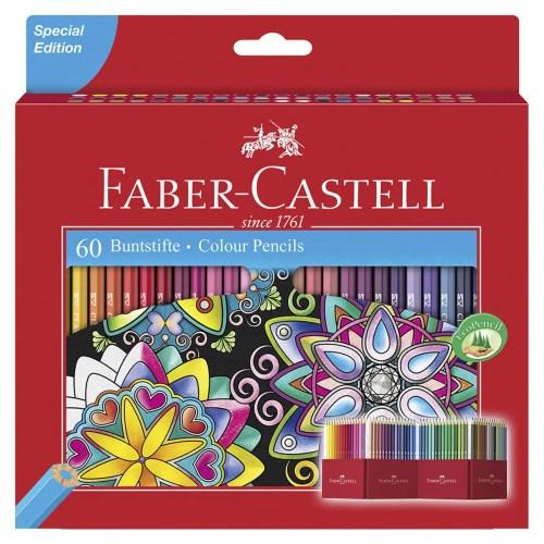 Colores Faber-Castell Con 60 Piezas