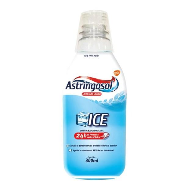 Enjuage Bucal Astringosol  Ice 300ml
