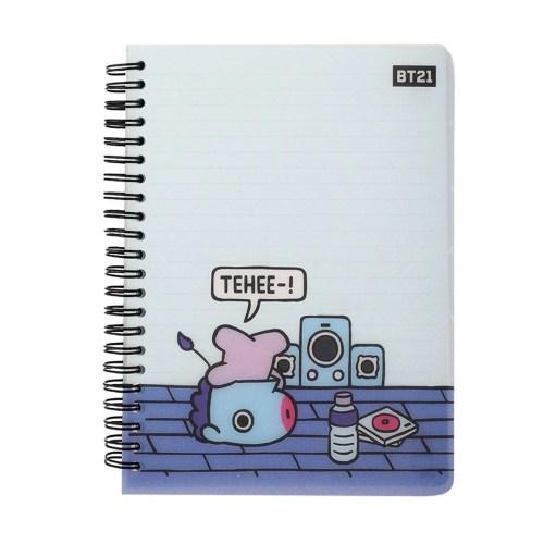 Cuaderno cubierta Mang