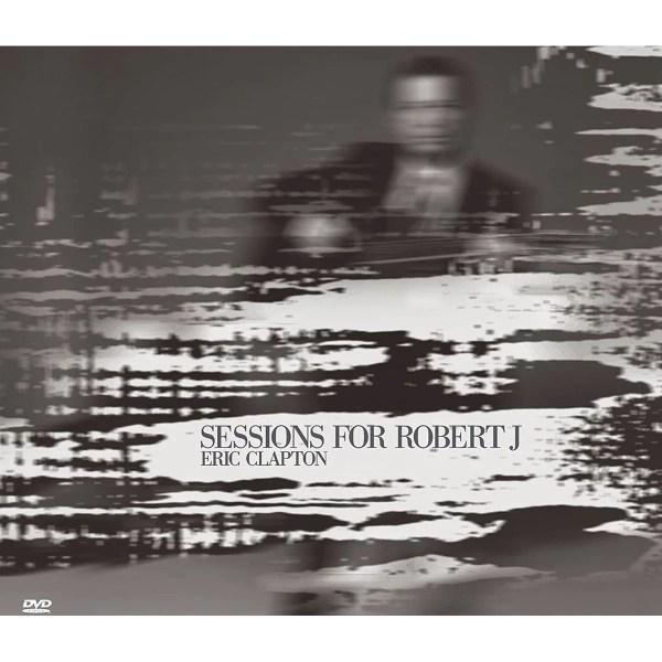 CD + DVD Eric Clapton - Sessions For Robert J (2015)