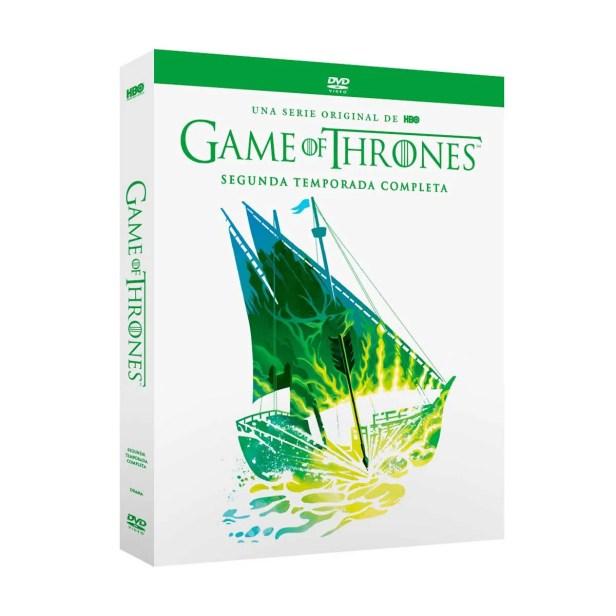 Dvd Game Of Thrones Temporada 2