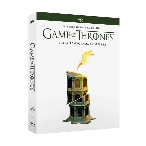 Blu Ray Game Of Thrones Temporada 6