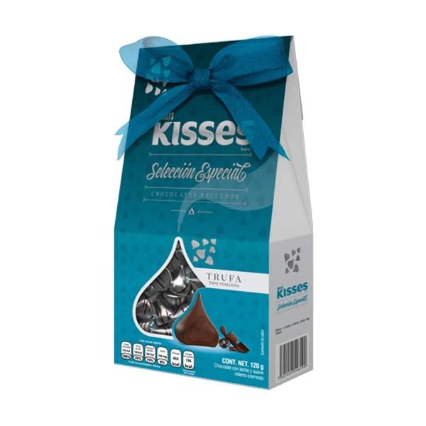 Chocolate Trufa Kisses Hersheys 120 Grs