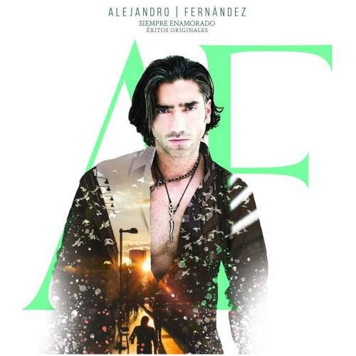 Cd + Dvd Alejandro Fernandez Siempre Enamorado