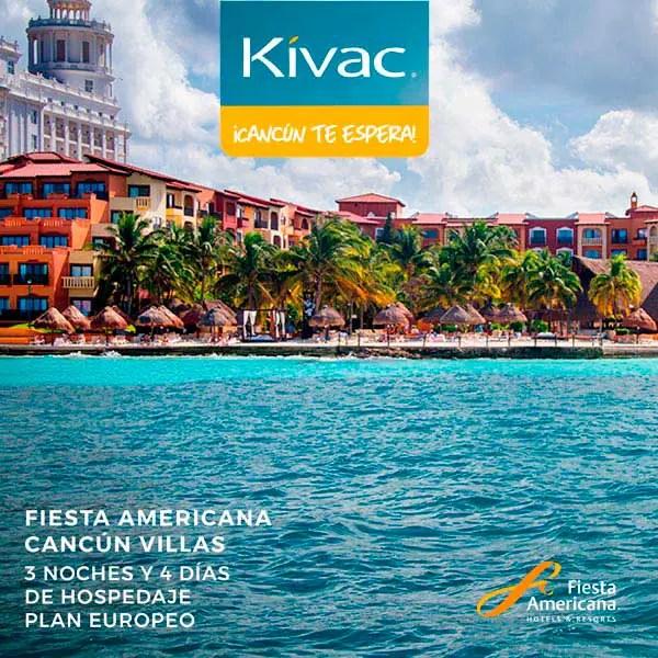 Viaje Cancún para 3 noches, 4 días en Fiesta Americana Villas Cancún