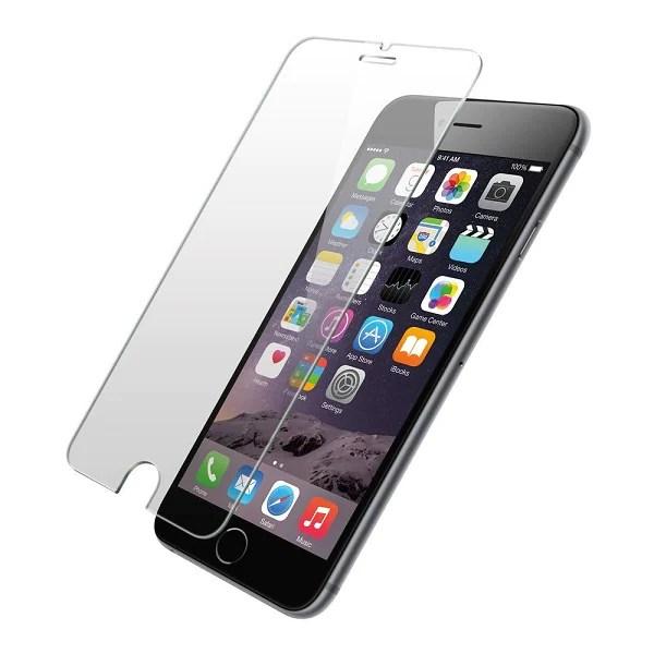 Iphone 6 plus kit de 3 Micas de cristal  templado 9h