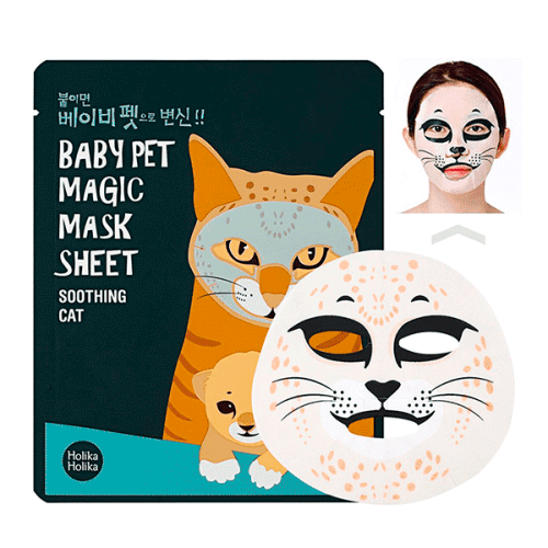 Máscara Refrescante Baby Pet Magic Gato Holika Holika