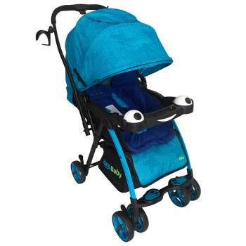 Carriola Plegable para Bebé KOOL BABY - Azul