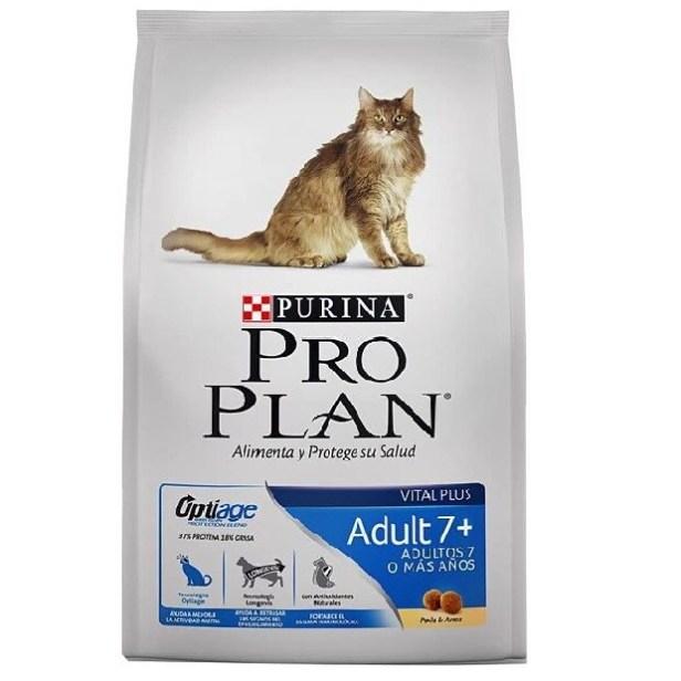 Pro Plan Gato Adult 7+ Pollo y Arroz 3kg