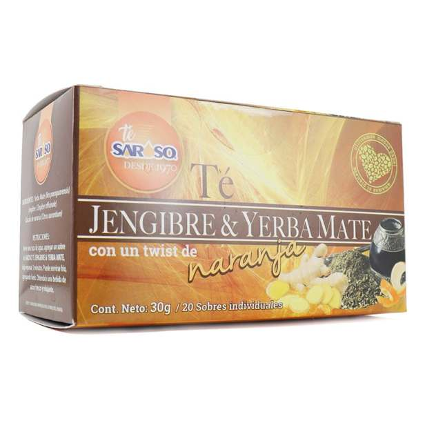 Té de Jengibre y Yerba Mate