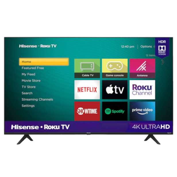 Pantalla Smart TV Hisense 43 4K UHD HDR Roku 43r6090g5