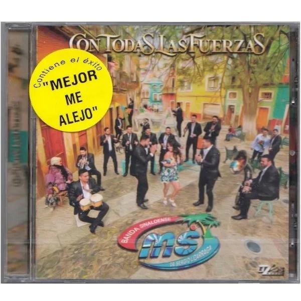 CD Banda MS ~ Con todas las fuerzas