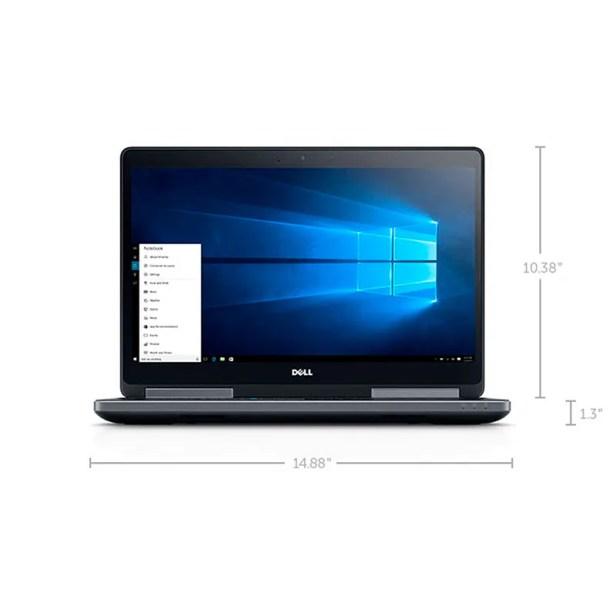 Laptop Dell Precision 7510 Core i7 16GB RAM 1TB HDD Windows 10