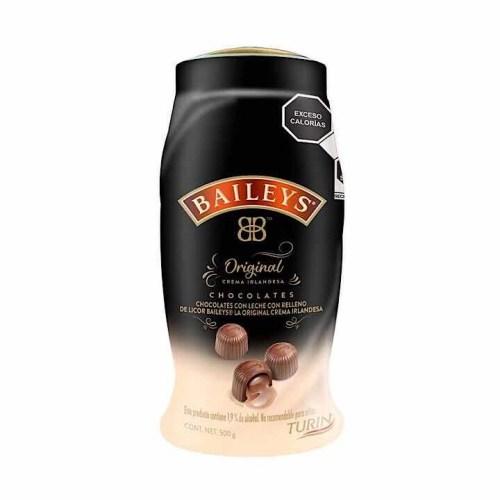 Chocolates Turín Rellenos de Crema Irlandesa Baileys 500g (Presentación puede variar)