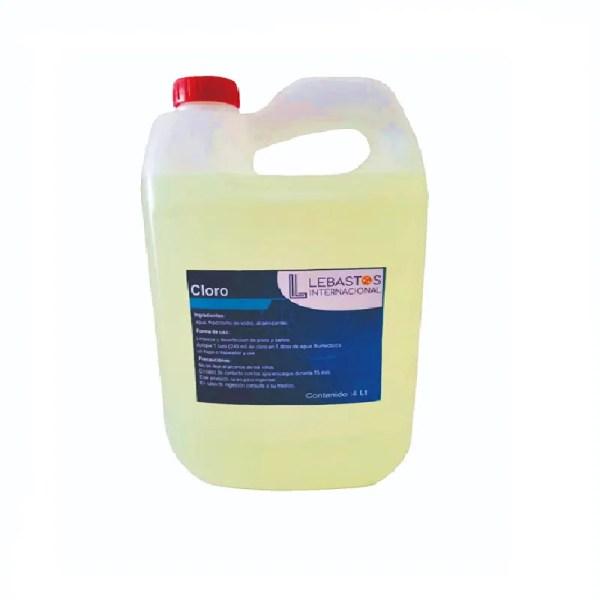Cloro 4 litros