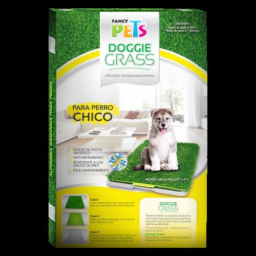 Tapete Entrenador Doggie Grass Chico