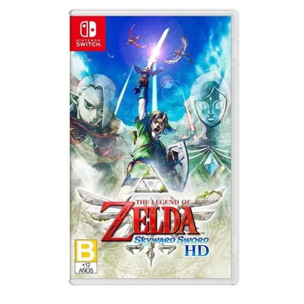 Nintendo Switch Juego The Legend Of Zelda Skyward Sword Hd