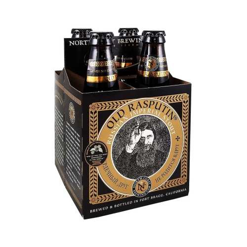 4 Pack cerveza Old Rasputin Russian Imperial Stout
