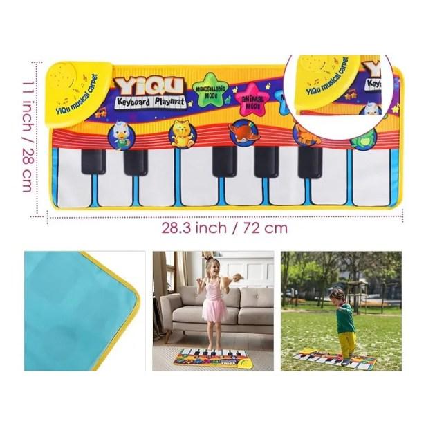 Alfombrilla Musical para Niños Nasjac Piano.