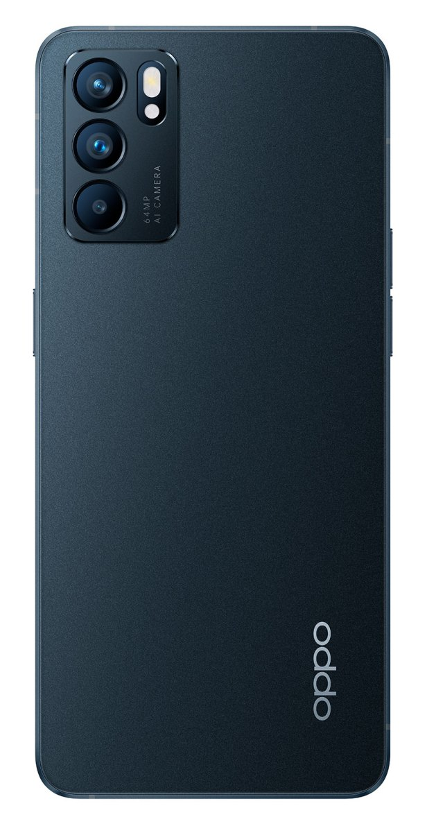 RENO6 5G Negro Telcel 128gb 65w Carga Súper Vooc ultra delgado triple cámara