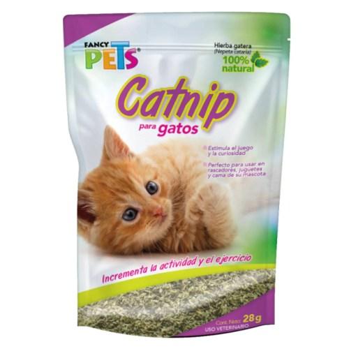 Catnip Estimulador Juego Curiosidad Gato 28Grs Fancy Pets