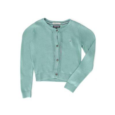 Suéter Tommy Hilfiger Verde para Niña