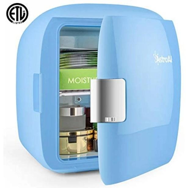 Mini Refrigerador AstroAI para Skincare Tamaño 9L -Azul