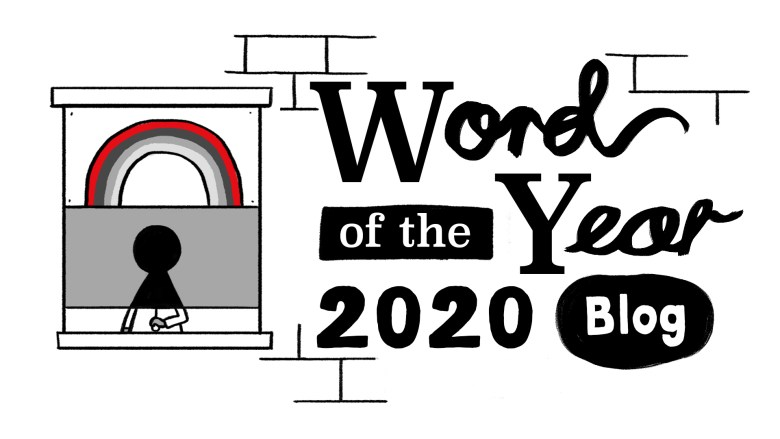 Plakat WOTY Collins Dictionary 2020