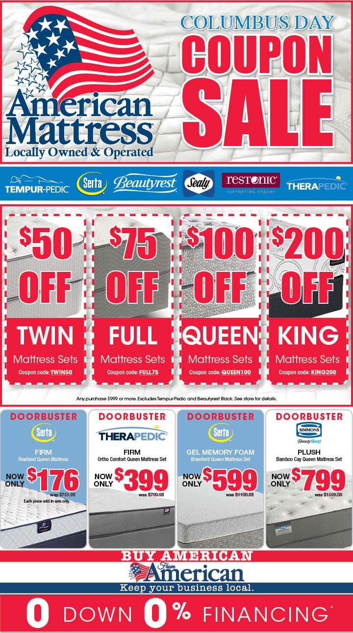 American Mattress Weekly Sale Weekly Mattress Sale