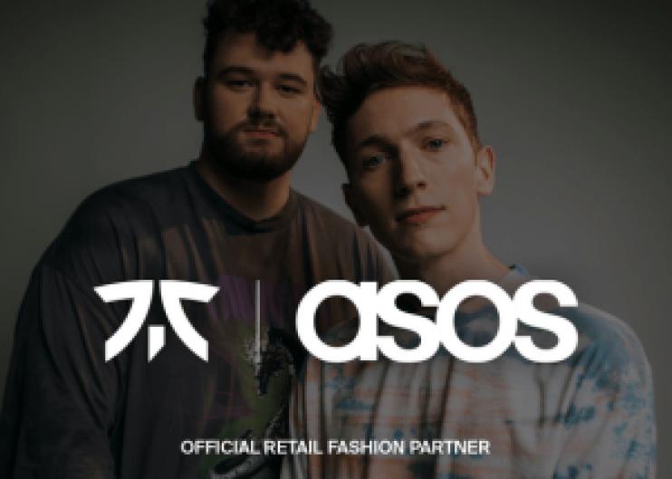 Fnatic x Asos Offical Fashion Retailer Partnership