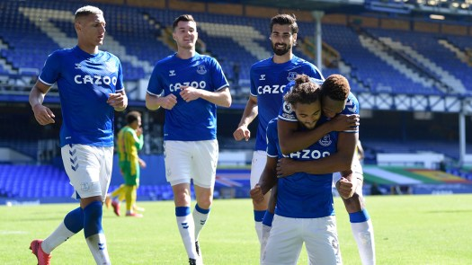 Five-Star Everton Topple Baggies