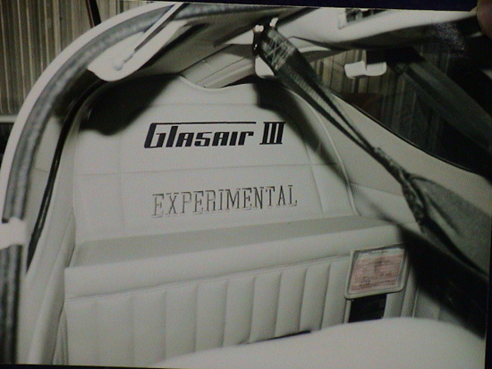 Glasair Iii Specifications Cabin Dimensions Speed Glasair