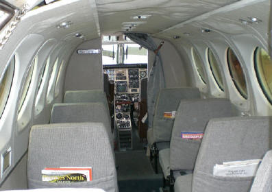 King Air A100 Specifications, Cabin Dimensions, Speed