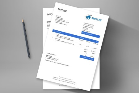 Invoice Modern     a Gravity Forms invoice   Gravity PDF This is your modern form invoice on steroids  Upload your business logo   include your company details  use merge tags to include the recipient info  and away