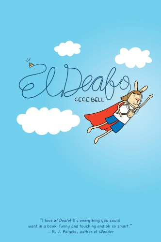 The cover of El Deafo by Cece Bell.