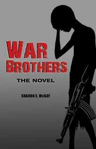 The cover of War Brothers: The Novel on which War Brothers: The Graphic Novel is based.
