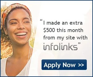 Monetize your website with Infolinks