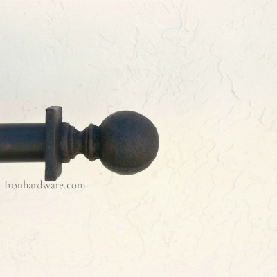 wrought iron curtain rods paso robles