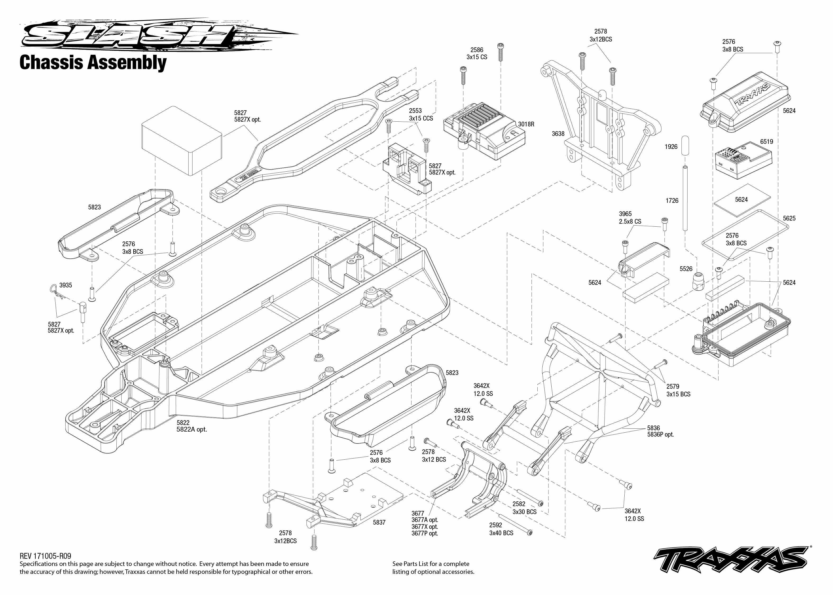 Traxxas Slash 1 10 Scale 2wd Sct Rtr With Tq 2 4ghz