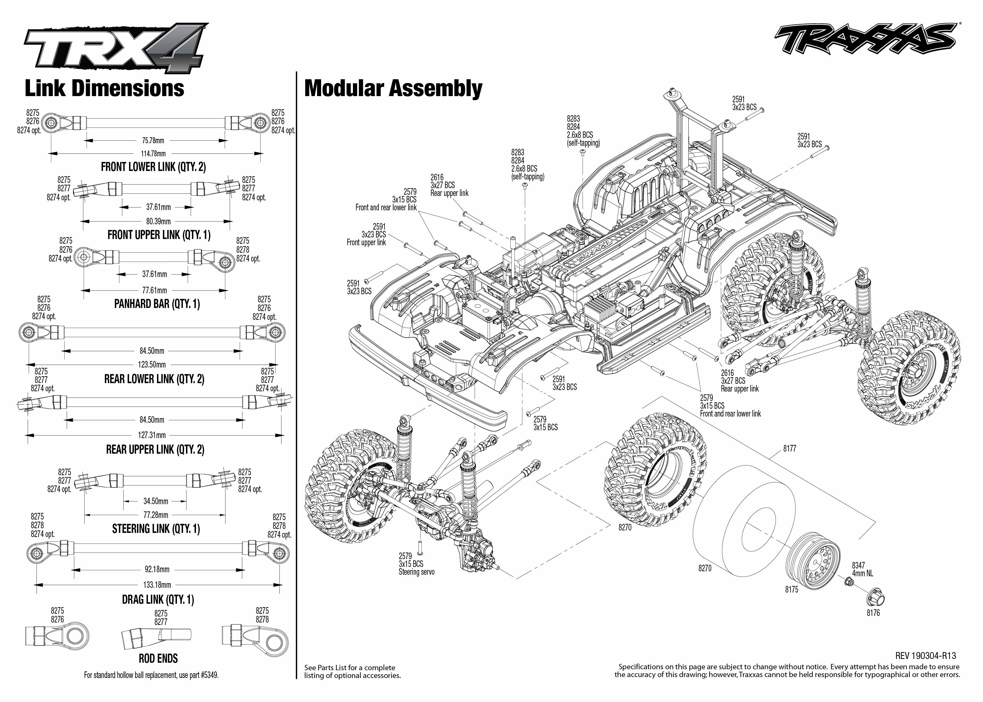Ford Bronco 4wd Electric Truck With Tqi Traxxas Link